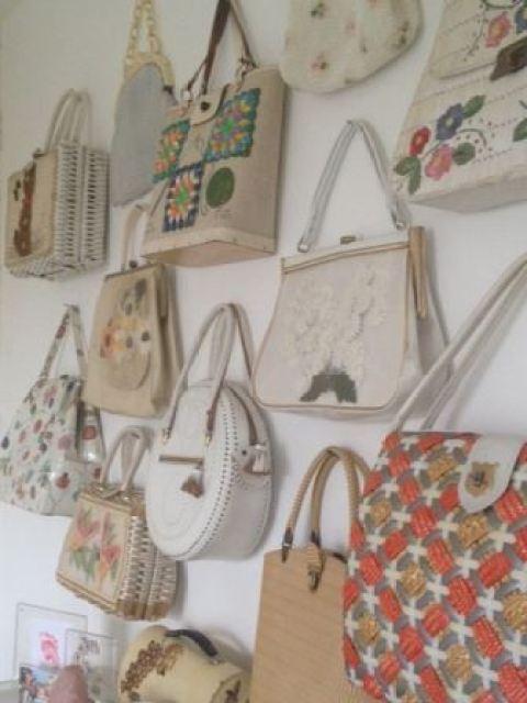 vintage handbags by Kate Beavis