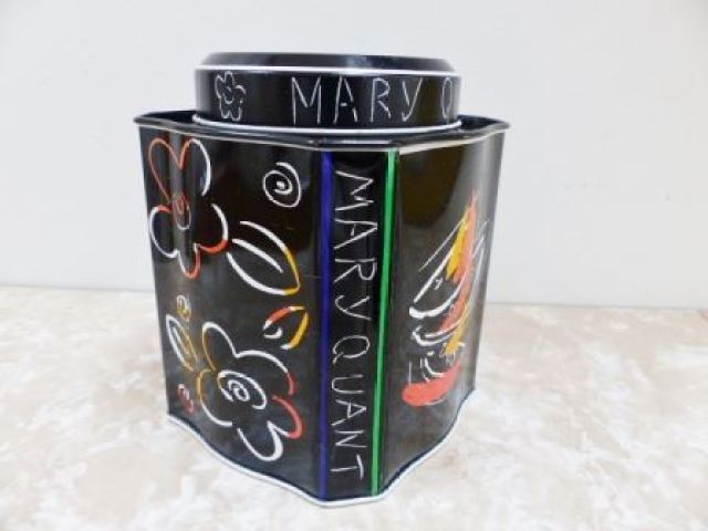 1980s Mary Quant tin from Kate Beavis