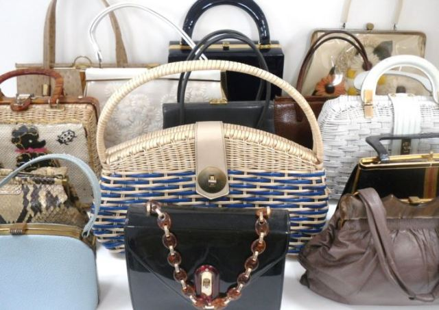 vintage handbags by Kate Beavis
