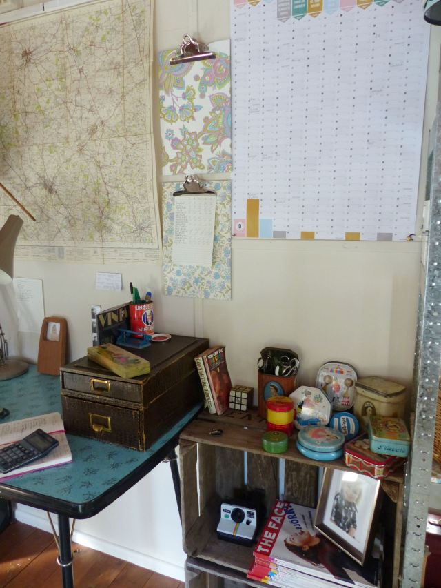 vintage office by Kate Beavis