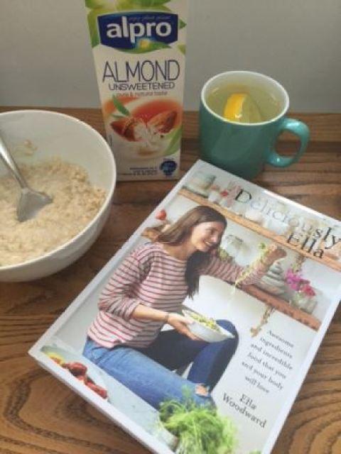 Deliciously Ella book and vegan porridge