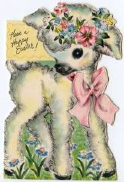 Vintage Easter Card from Kate Beavis