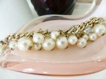 Vintage pearl bracelet from Kate Beavis