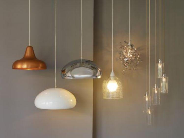 Habitat vintage and industrial mid century style lighting as seen on Kate Beavis Home blog