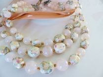 1950s 3 tiered necklace from Kate Beavis Vintage