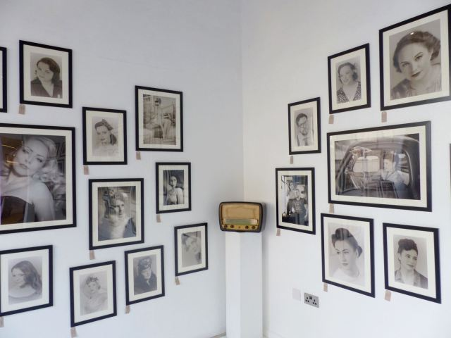 Nostalgia 1930s photo exhibition by Jez Brown and Sarah Dunn at Bedford as featured on Kate Beavis Vintage Home blog