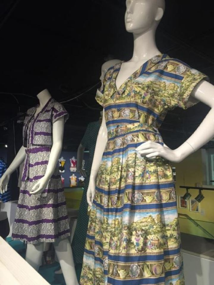 Vintage 1950s  swimwear swimming costumes as featured on Kate Beavis Vintage Blog (from the F&T museum)