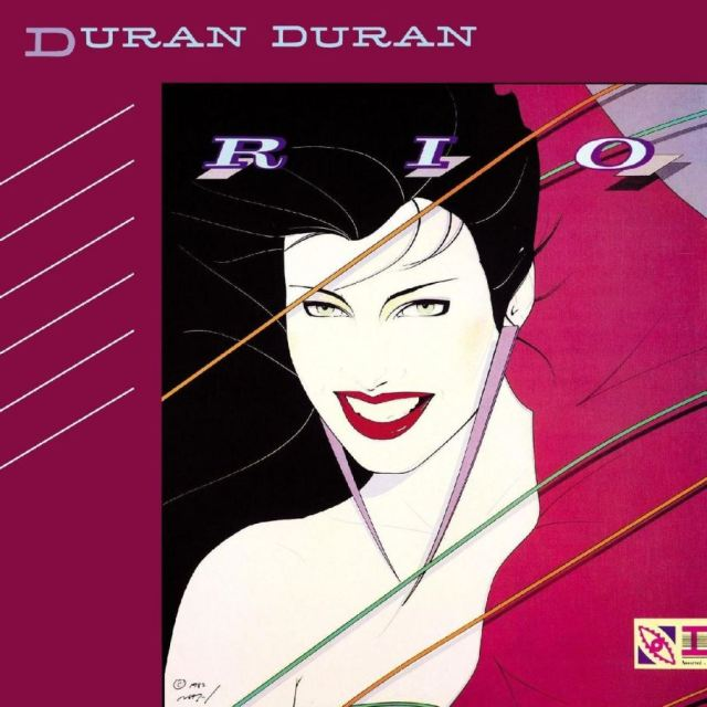 Duran Duran Patrick Nagel album cover as featured on Kate Beavis 1980s blog