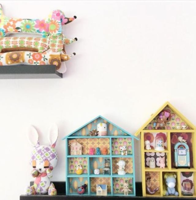 Five Little Diamonds Vintage Home as featured on Kate Beavis Vintage Home blog