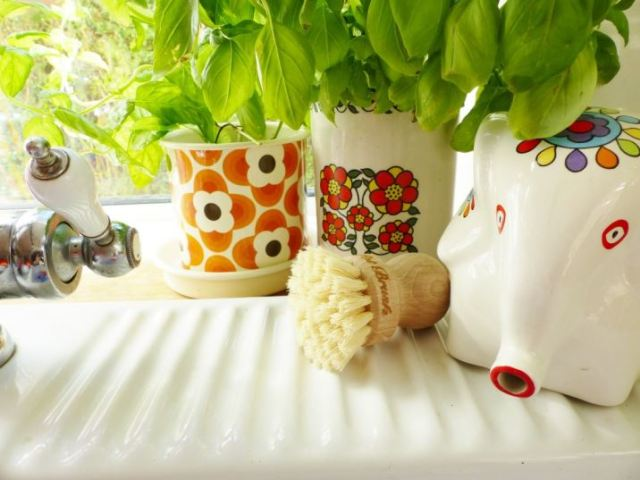 Elliot wooden household items as featured on kate Beavis Vintage Home blog