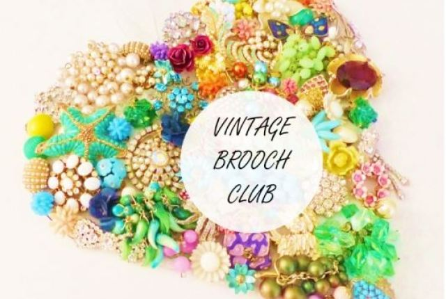 VINTAGE BROOCH CLUB horizontal