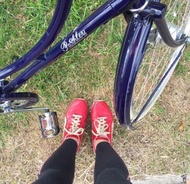 Pashley bike as featured on Kate Beavis Vintage Home blog
