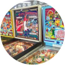 Vintage arvade games in Dreamland on Kate Beavis blog in Margate