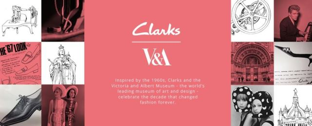 Clarks shoes and the V&A museum new 1960s vintage style shoe range as featured on Kate Beavis vintage home blog