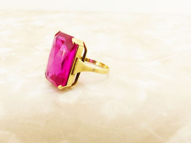 Vintage jewellery as featured on Kate Beavis Vintage Home blog