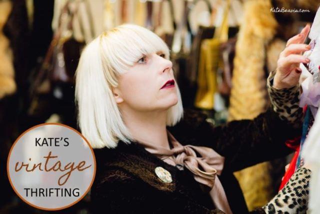 Kate Beavis Vintage Thrifting