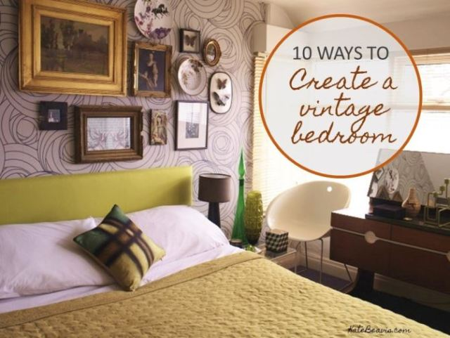 10 ways to create a mid century vintage bedroom by Kate Beavis, vintage expert and blogger