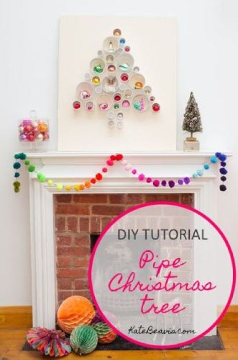 DIY Tutorial A Pipe Christmas Tree Picture by Kate Beavis