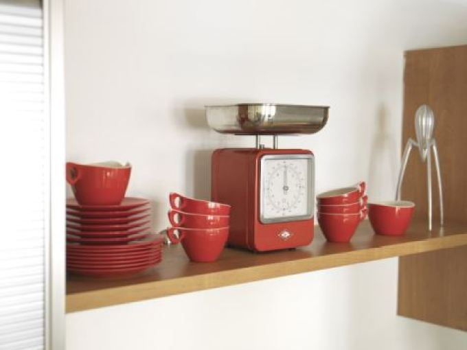 Get the Vintage 1950s Kitchen Look Melamine from Style Your Modern Vintage home book by Kate Beavis