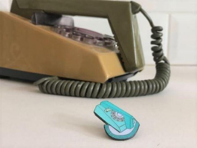 Vintage Pin Club Trimphone