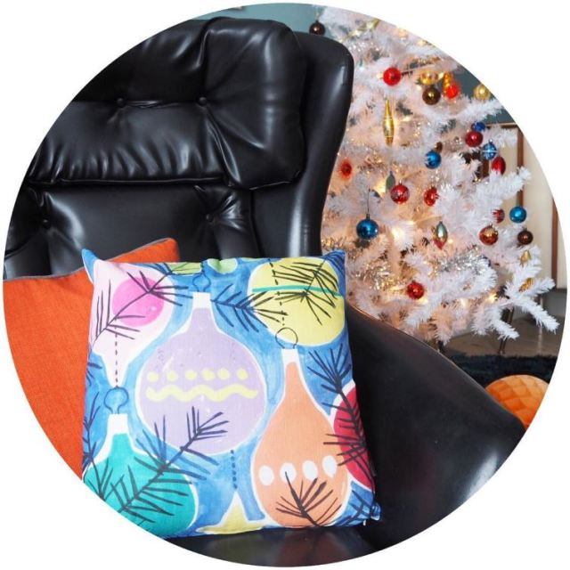 Ive been sent these fab Christmas cushions blog to followhellip