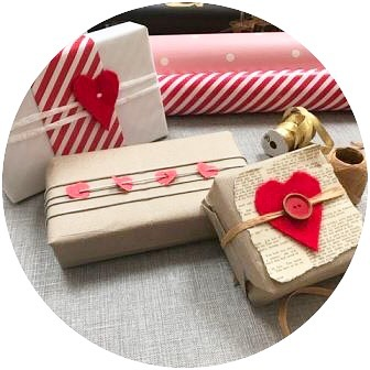 Valentines wrapping ideas on the blog  link in bio!hellip