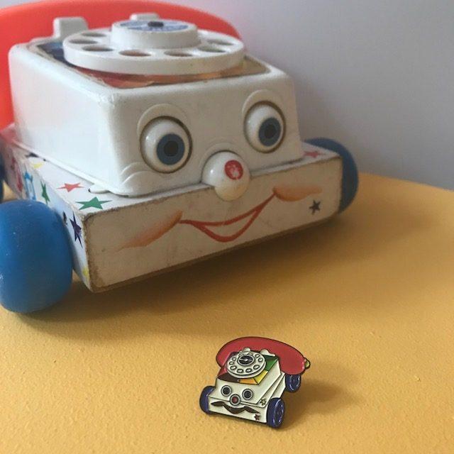vintage pin club - phone