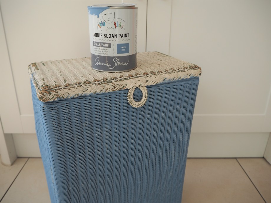 How to upcycle a vintage laundry basket
