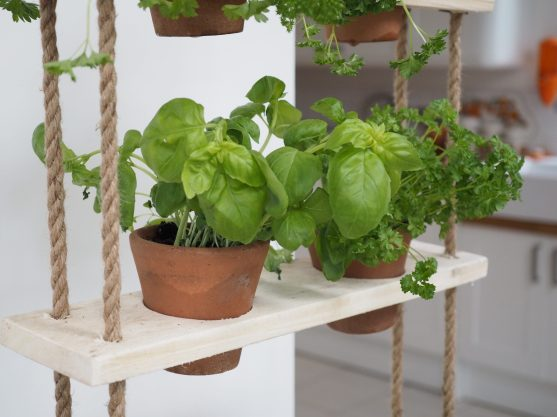 How To Make A Pallet Herb Planter