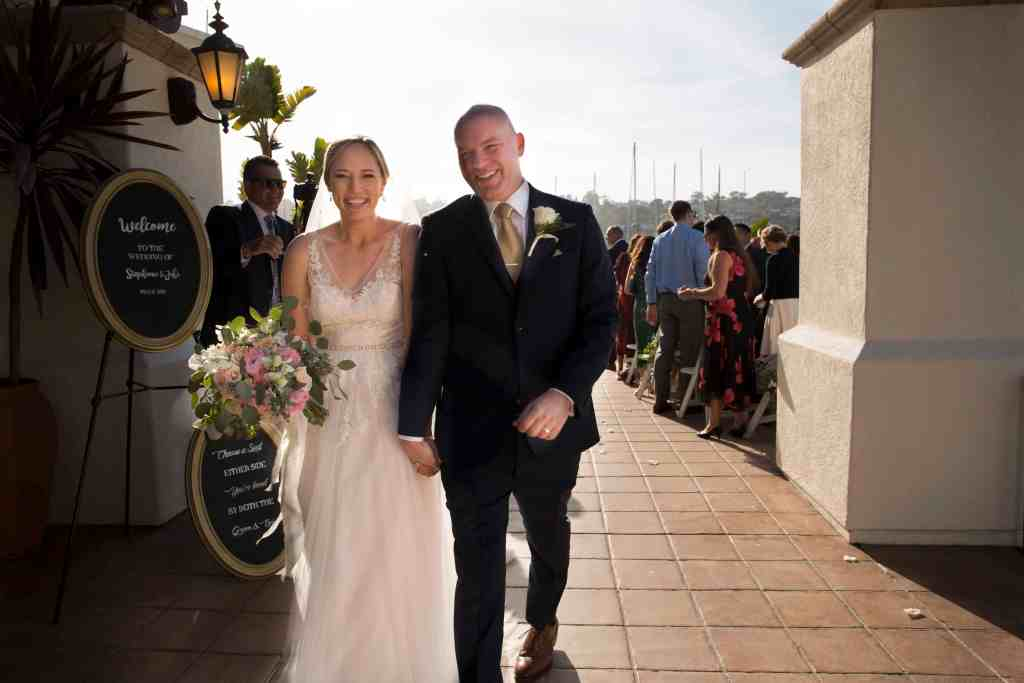 waterfront weddings in san diego