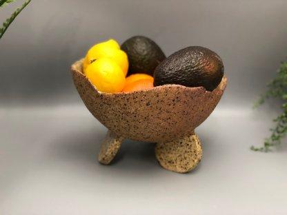 Rustic Serving/Fruit Pod