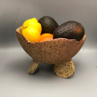 Rustic Serving/Fruit Pod