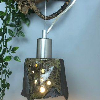 Patchwork Ceramic Pendant Light Shade