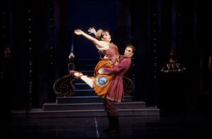 """This is me and Matt Williams in the ballet, """"Cinderella""""."""