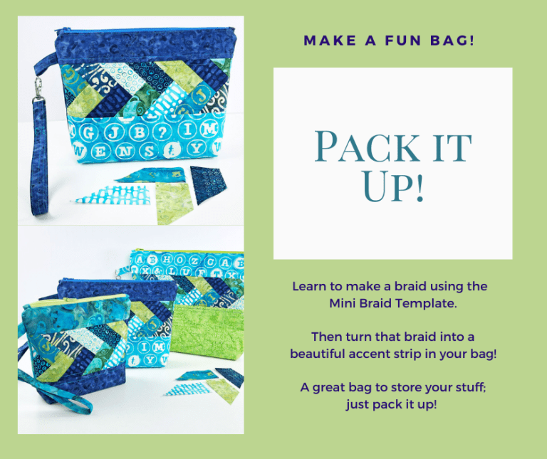 Pack It Up Bag: Make a fun and functional bag!