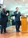 Will Travers takes the auctioneer's role