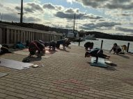 Yellowknife Yoga Teacher Training Graduation Class