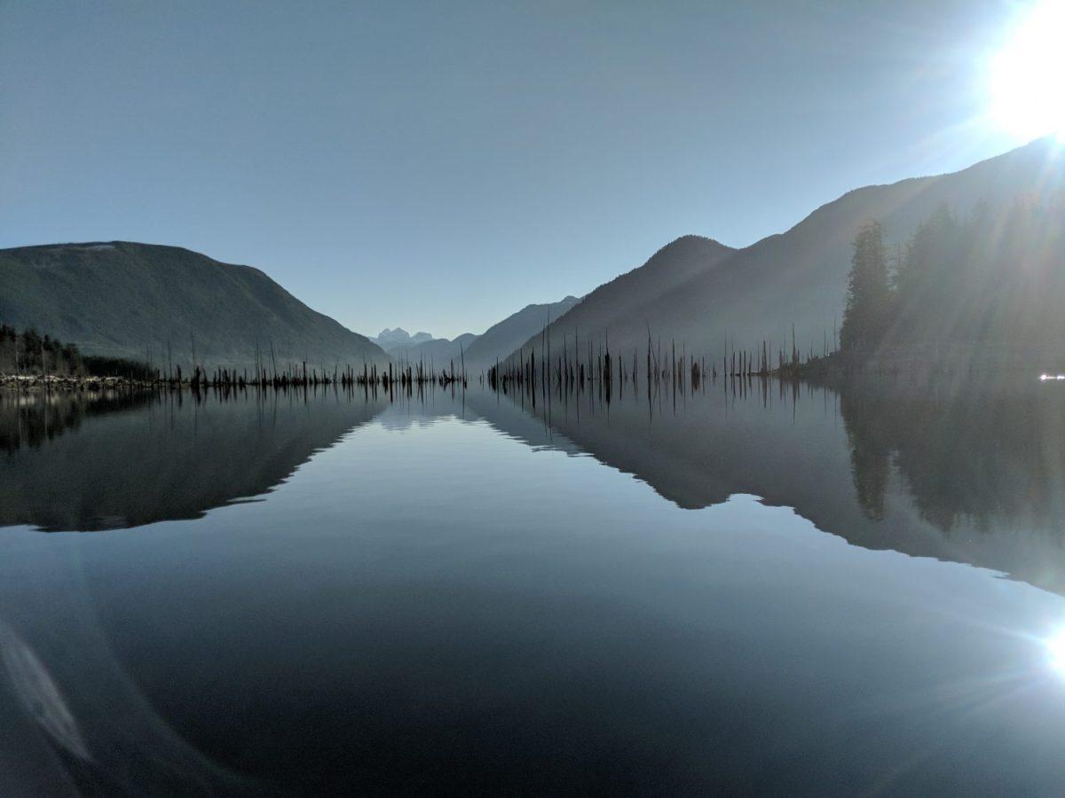 Powell Lakes Canoe Land and Heart Yoga Teacher Training