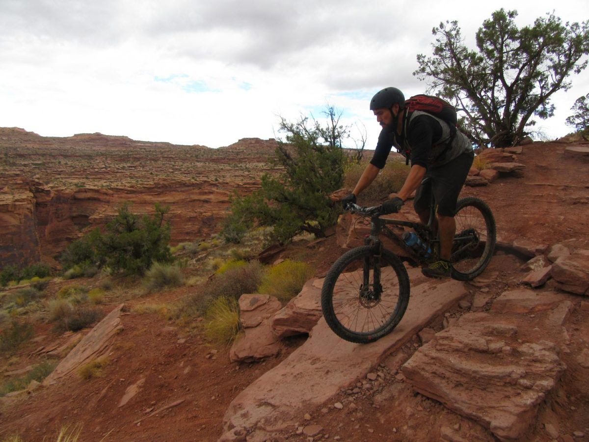 Kate Covello Yoga for Athletes Rocky Mountain bike Moab