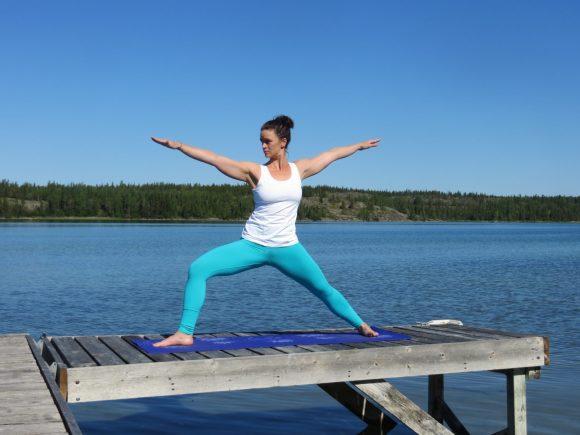Warrior Two Land and Heart Yoga Teacher Training Yellowknife