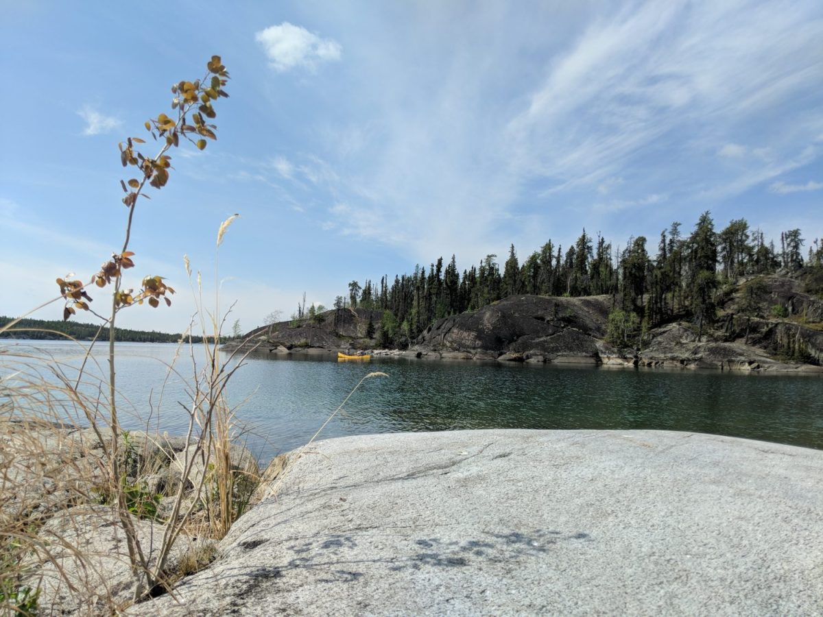 Hidden Lake Canoe Yellowknife Yoga Teacher Training Land and Heart Practice