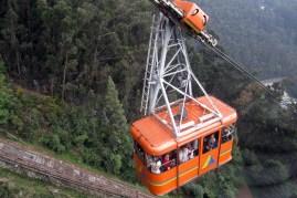 Teleferico in Bogotá
