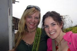 Kate Dana and Shauna at Monserrate