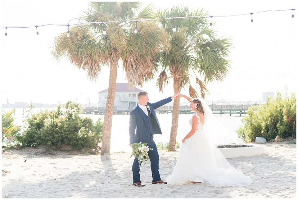 Charleston Harbor Resort Outdoor Beach Wedding Charleston Wedding Photographer_0001.jpg