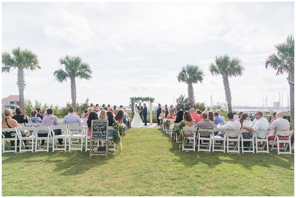 Charleston Harbor Resort Outdoor Beach Wedding Charleston Wedding Photographer_0031.jpg