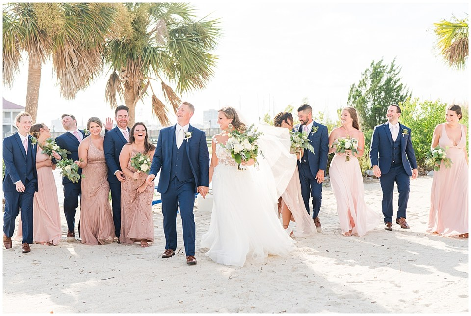 Charleston Harbor Resort Outdoor Beach Wedding Charleston Wedding Photographer_0044.jpg