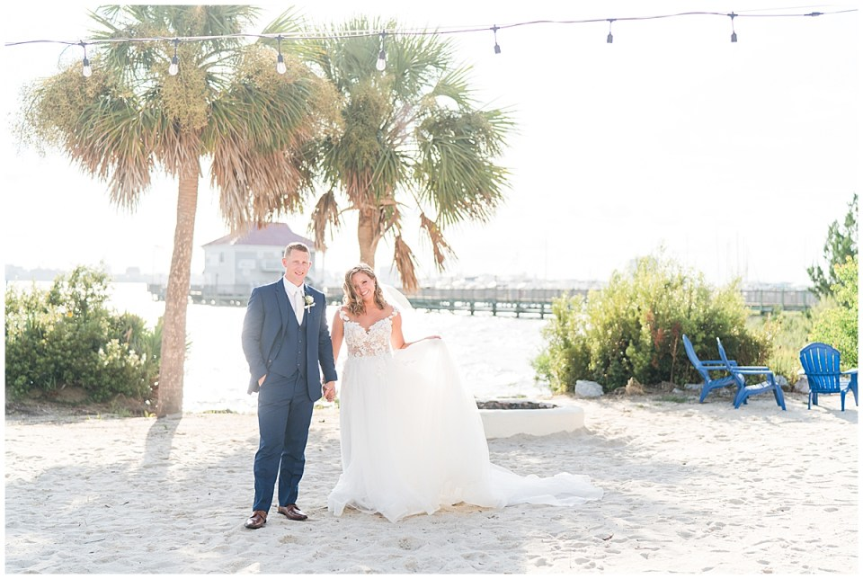 Charleston Harbor Resort Outdoor Beach Wedding Charleston Wedding Photographer_0049.jpg