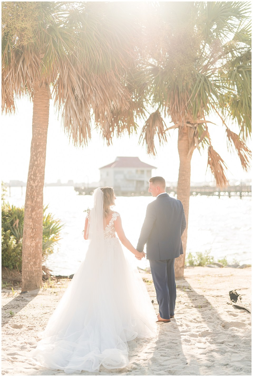 Charleston Harbor Resort Outdoor Beach Wedding Charleston Wedding Photographer_0053.jpg