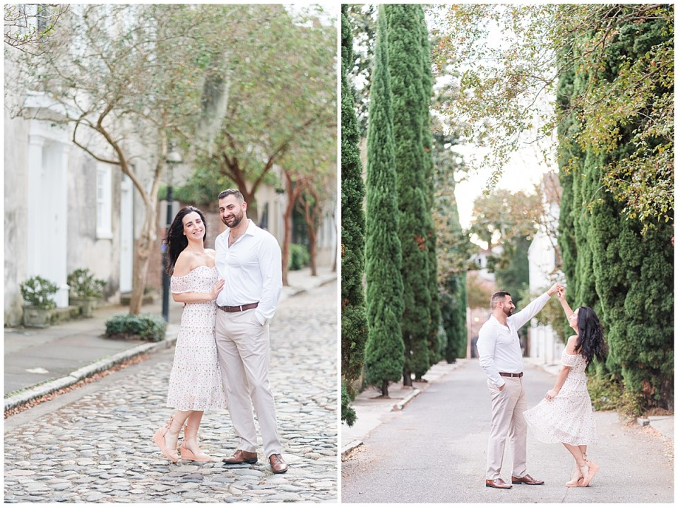 Outdoor Downtown Charleston Engagement Session_0013.jpg