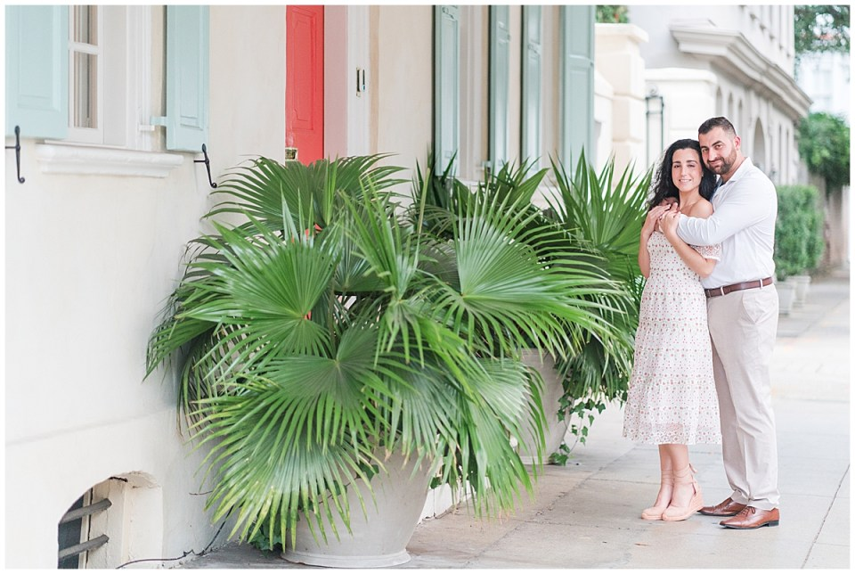 Outdoor Downtown Charleston Engagement Session_0017.jpg